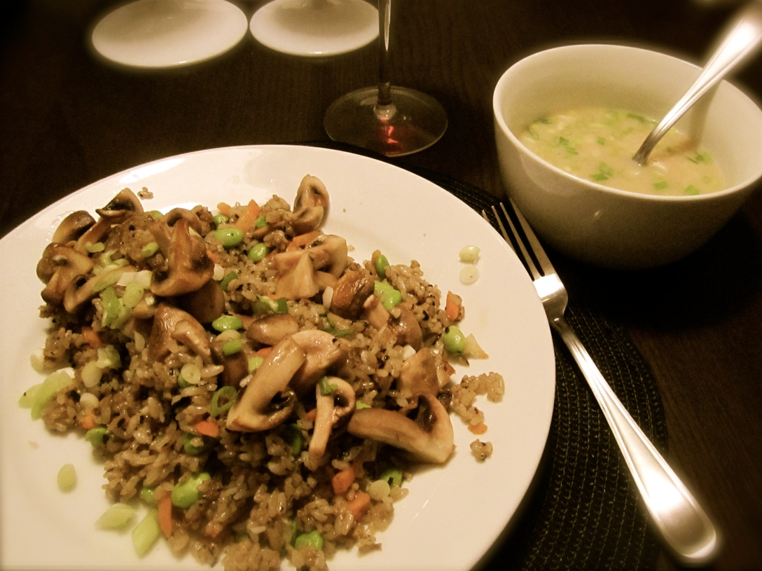 Japanese-style dinner