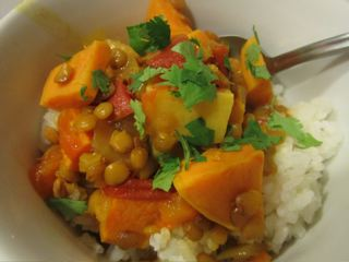 Sweet Potato Lentil Stew