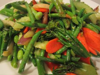 Weeknight stir-fry veggies