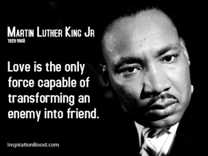 MLK Love is the only force