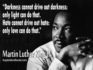 MLK Only love can do that